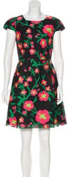 Andrew Gn Floral Mini Dress