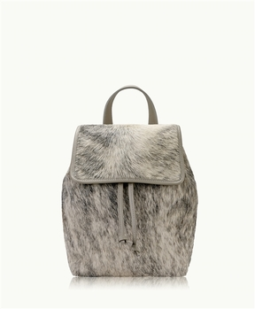GiGi New York Phoebe Backpack Natural American Haircalf - 001