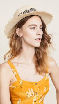 Rag & Bone Frayed Edge Panama Hat