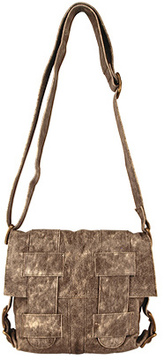 Women's Latico Gloria Cross-Hatch Shoulderbag 7634