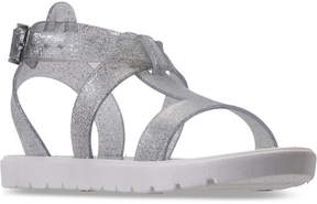 Nine West Girls' Heyleigh Gladiator Jelly Sandals from Finish Line