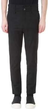 Damir Doma Black Plicy Cotton Pants