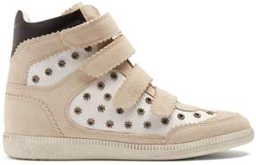 Isabel Marant Bilsy concealed-wedge suede trainers