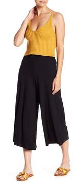 Dee Elly Ribbed Wide Leg Pants
