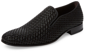 Mezlan Men's Embossed Slip-On Loafer