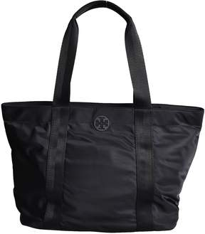Tory Burch Quinn Large Zipped Tote - BLACK - STYLE
