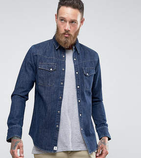Edwin Kaito Denim Shirt Blue Stonewash
