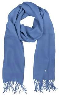 Mila Schon Women's Light Blue Wool Scarf.