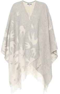 McQ Printed wool scarf