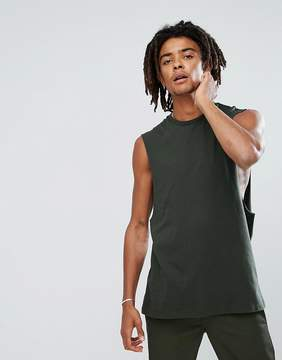 Asos DESIGN relaxed tank with dropped armhole