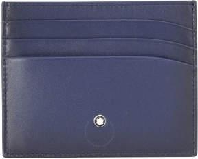 Montblanc Navy Blue Pocket Holder