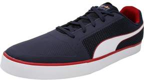 Puma Men's Red Bull Racing Wings Vulc Total Eclipse / White Chinese Ankle-High Fashion Sneaker - 14M