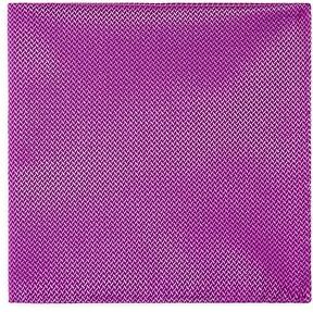 Armani Collezioni Micro Herringbone Pocket Square