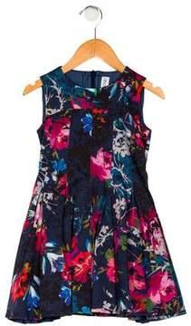 Simonetta Kids Girls' Floral Print Dress