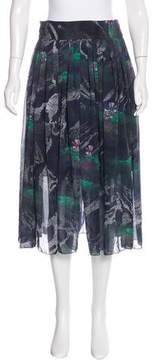 Timo Weiland Floral Midi Skirt