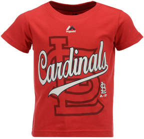 Majestic St. Louis Cardinals The Game Cotton T-Shirt, Toddler Boys