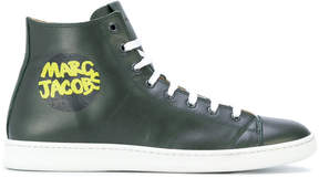 Marc Jacobs branded hi-top sneakers