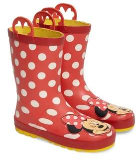 Western Chief Toddler Girl's Minnie Mouse Rain Boot