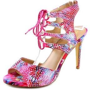 Thalia Sodi Rhumba Open Toe Canvas Sandals