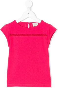 Emporio Armani Kids TEEN logo T-shirt