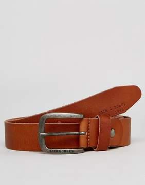 Jack and Jones Belt In Leather