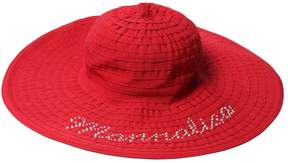 MonnaLisa Grosgrain Wide Brim Hat
