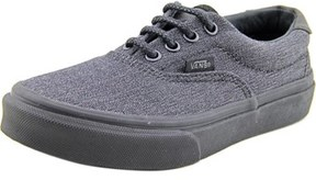 Vans Era 59 Youth Round Toe Canvas Black Skate Shoe.