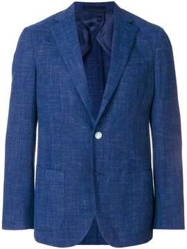 Barba long-sleeve blazer