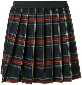P.A.R.O.S.H. plaid pleated mini skirt
