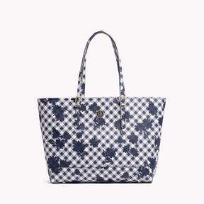 Tommy Hilfiger Saffiano Gingham Tote
