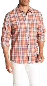 Grayers Scottsdale Plaid Print Regular Fit Woven Shirt