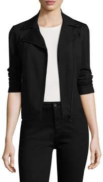 Armani Exchange Women's Solid Asymmetrical Jacket