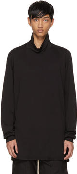 Rick Owens Black Surf Turtleneck