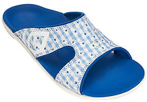 Spenco Orthotic Slide Sandals - Kholo Gingham