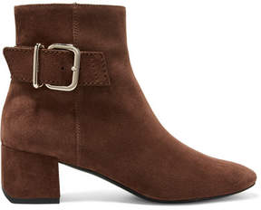 Tod's Suede Ankle Boots - Brown