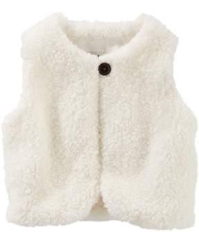 Osh Kosh Oshkosh Bgosh Baby Girl Sherpa Vest