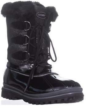 Khombu Free Snow Boots, Black.