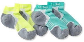 L.L. Bean Kids CoolMax Multisport Socks, Two-Pack