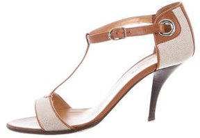 Hermes Leather T-Strap Sandals