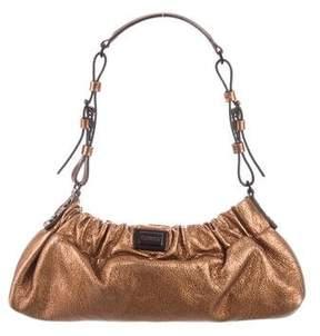 Burberry Mini Metallic Bag - GOLD - STYLE