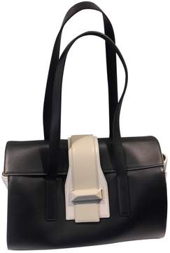 Max Mara Black Leather Handbag