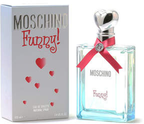 Moschino Funny for Women Eau de Toilette Spray, 3.4 oz./ 100 mL