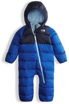 The North Face Infant Boy's 'Lil Snuggler' Water Resistant Down Snowsuit
