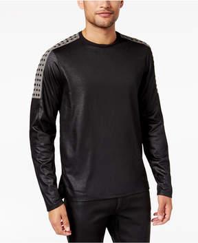 GUESS Men's Mason Studded Moto T-Shirt