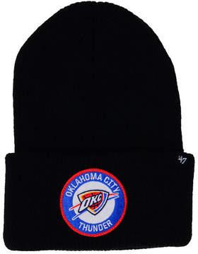 '47 Oklahoma City Thunder Ice Block Cuff Knit Hat