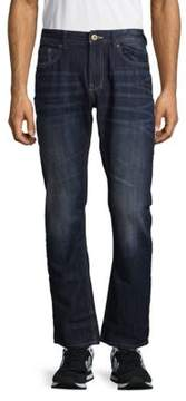Buffalo David Bitton Slim Straight Fit Cotton Jeans