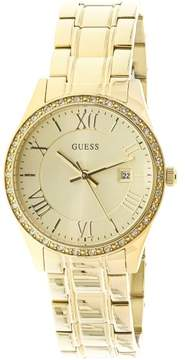 GUESS U0985L2 Gold Stainless-Steel Japanese Quartz Fashion Watch