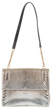 Nina Ricci Small Snakeskin Iridescent Bag