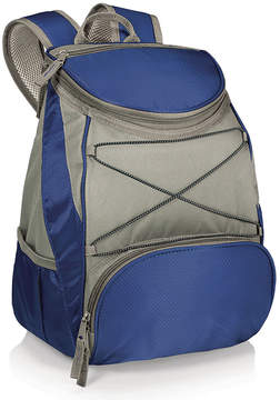 Picnic Time Blue & Gray Insulated Backpack