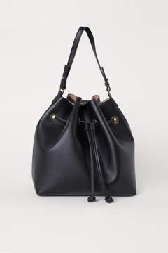 H&M Large Bucket Bag - Black